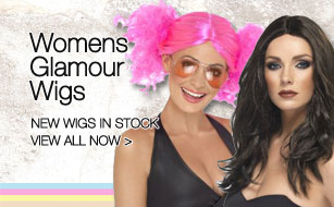 NEW: Womens Glamour Wigs