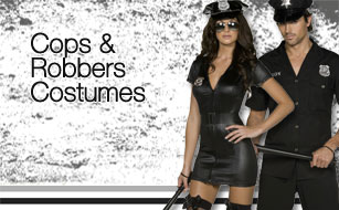 New Selection of Police Fancy Dress Costumes