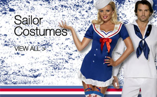 New Range of Sailor Fancy Dress Costumes